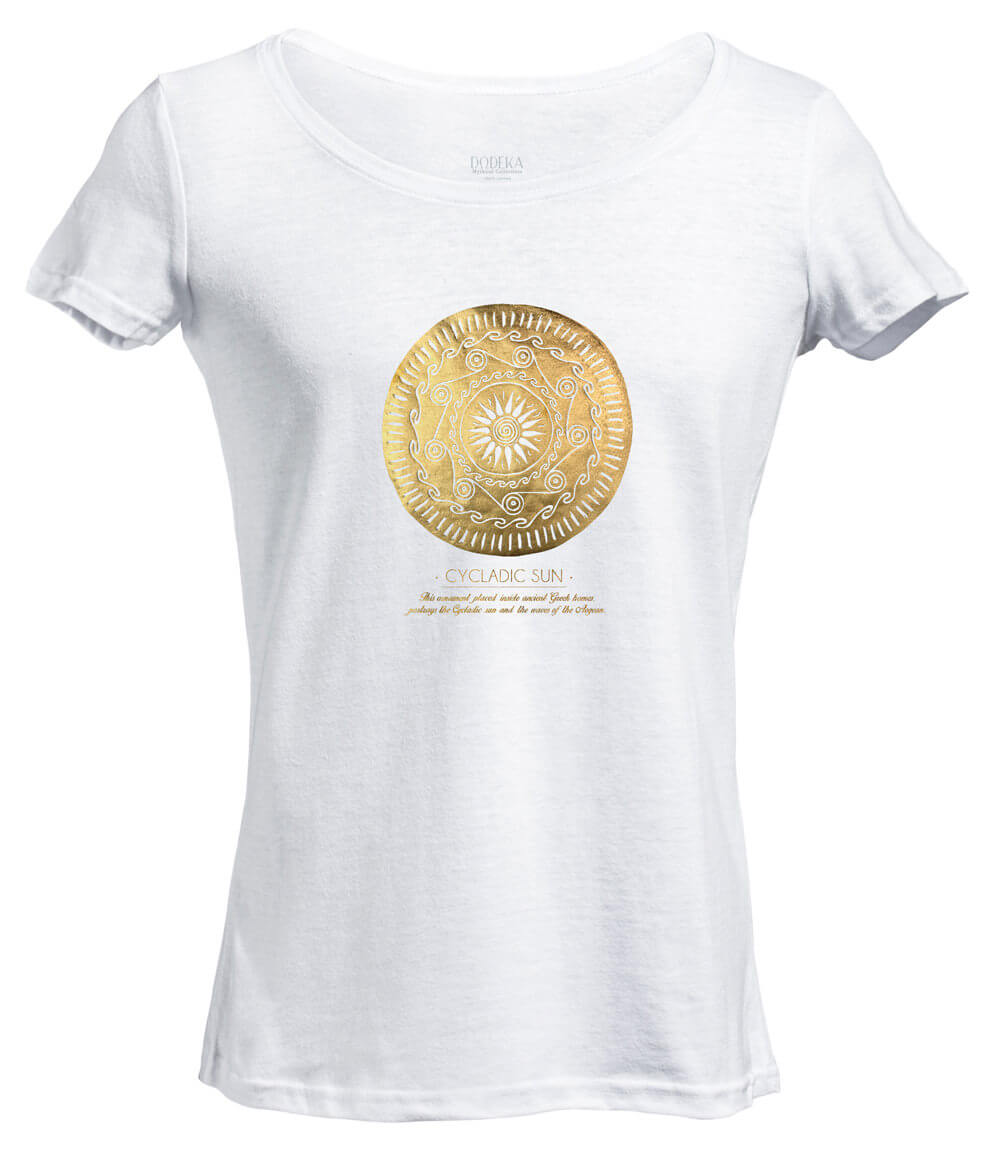 Γυναικείο T-shirt CYCLADIC SUN