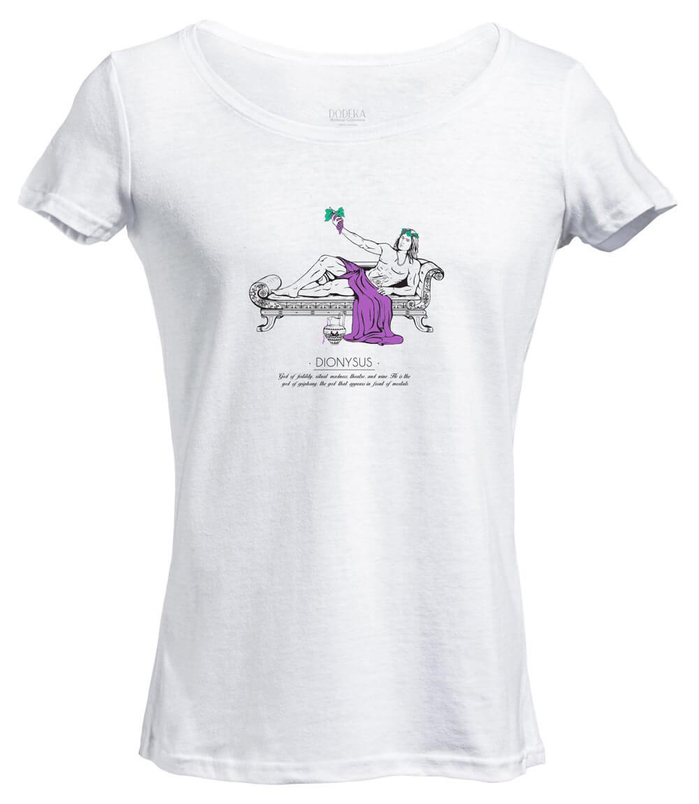 Women T-shirt DIONYSUS