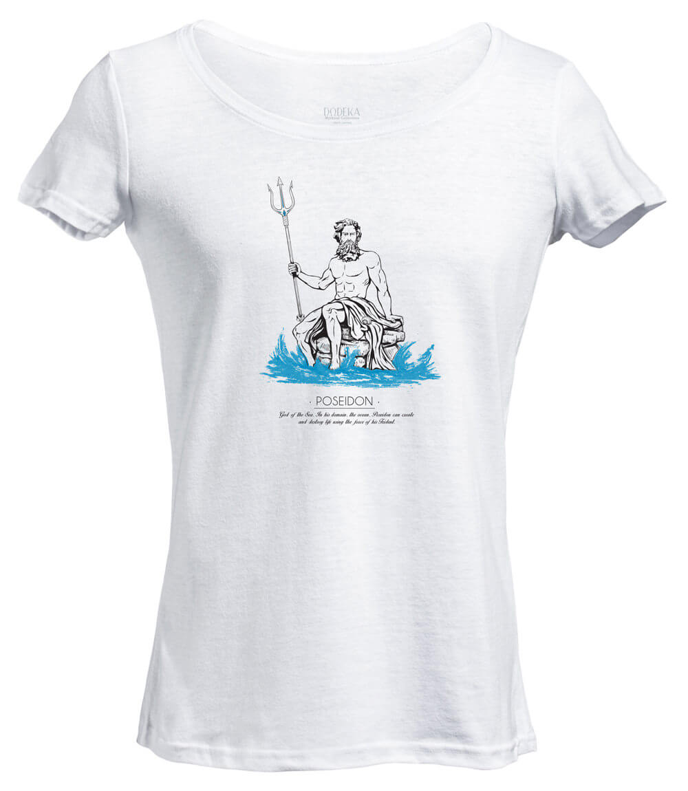Women T-shirt POSEIDON