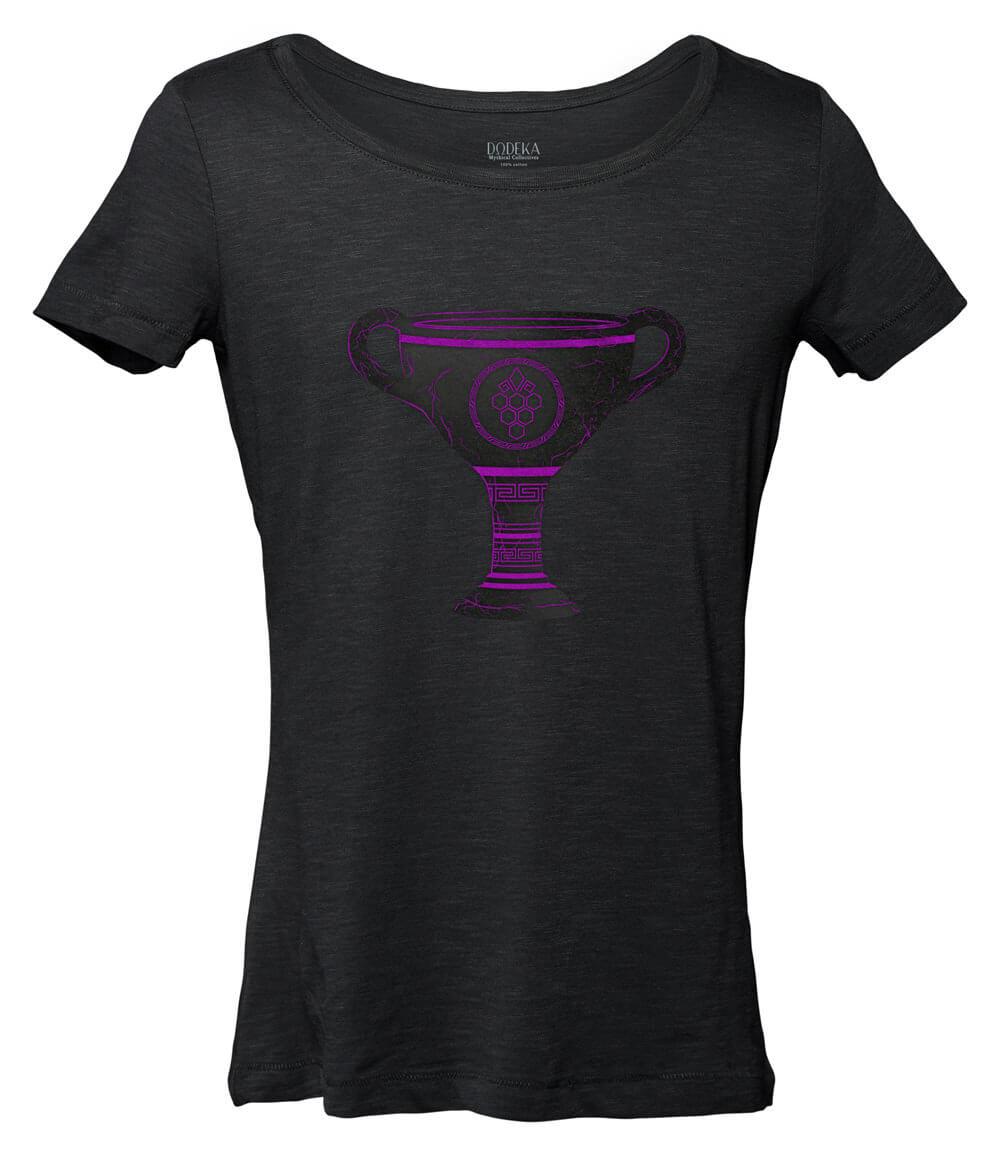 """Women T-shirt """"Nychta"""" DIONYSUS"""