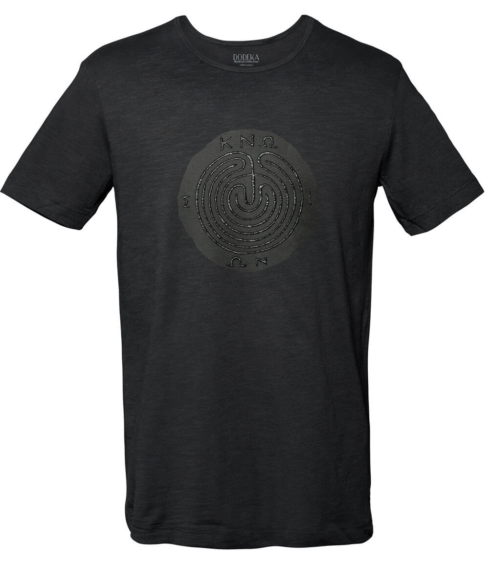 Men T-shirt KNOSSOS MAZE