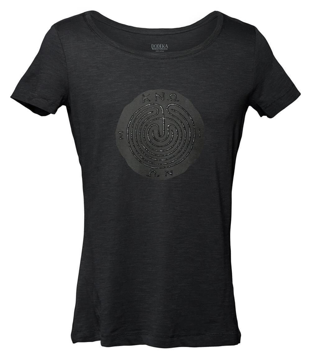 Women T-shirt KNOSSOS MAZE