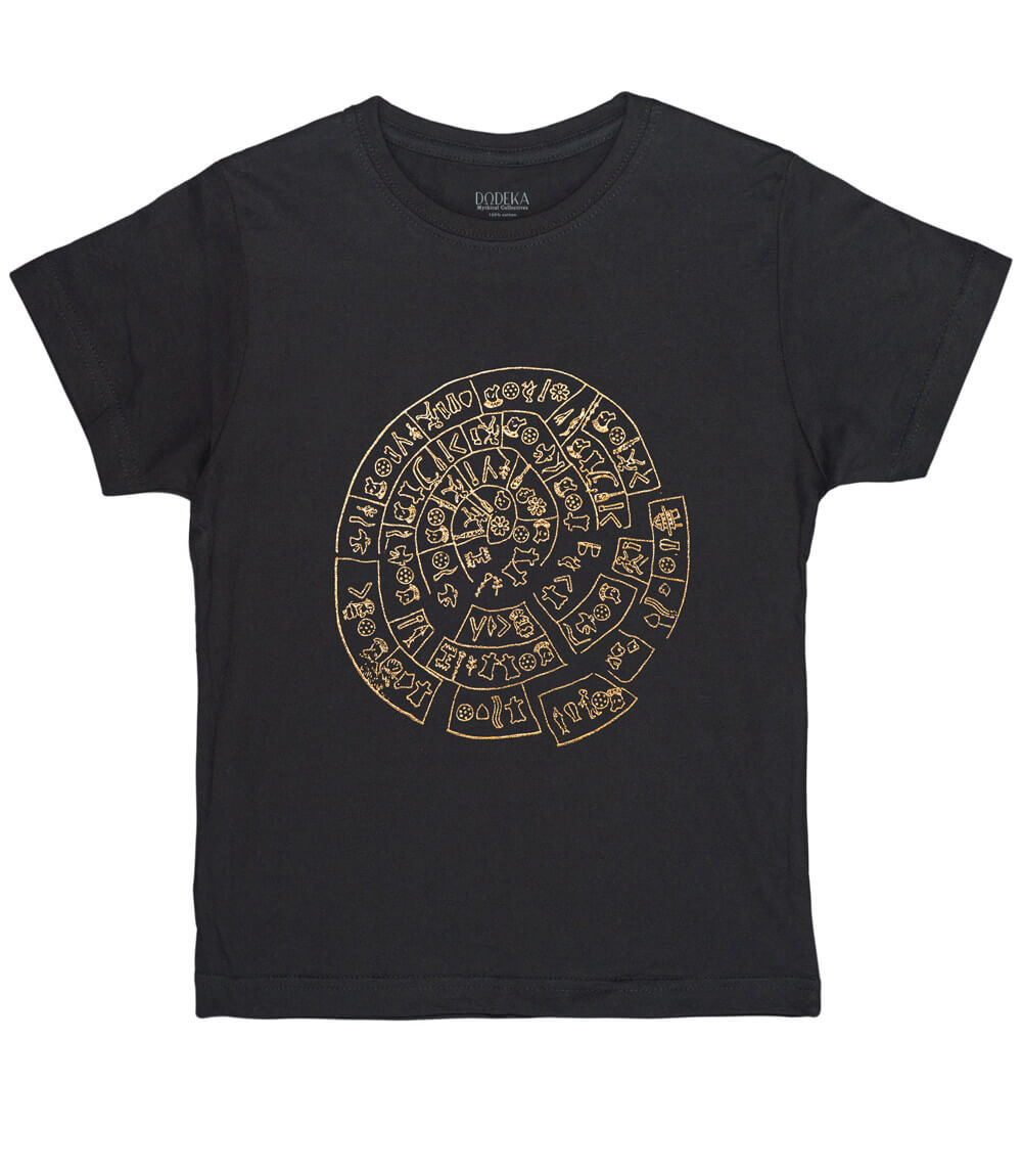Kids T-shirt PHAISTOS DISK