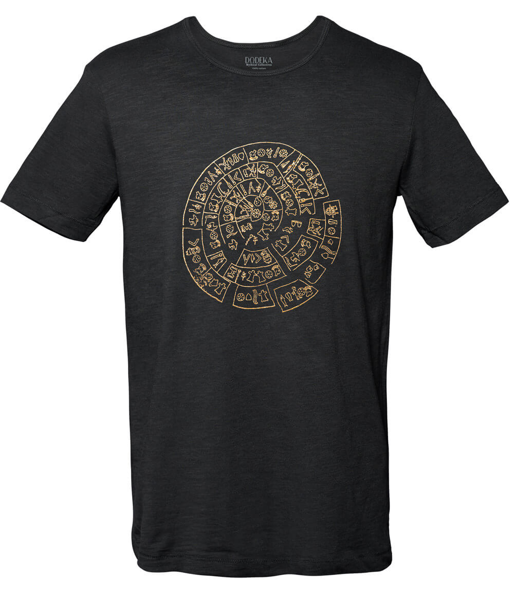 Men T-shirt PHAISTOS DISK