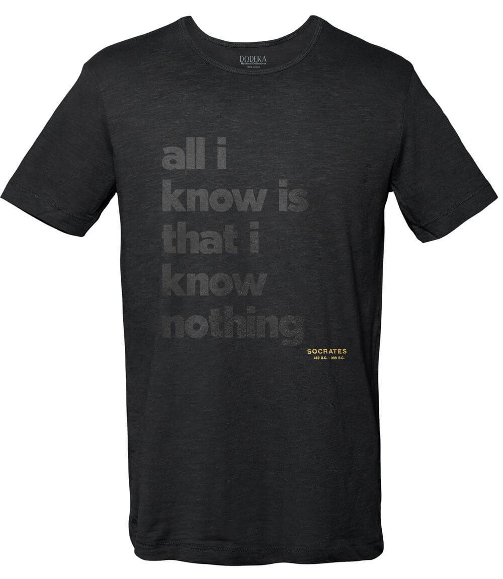 Ανδρικό T-shirt SOCRATES QUOTE