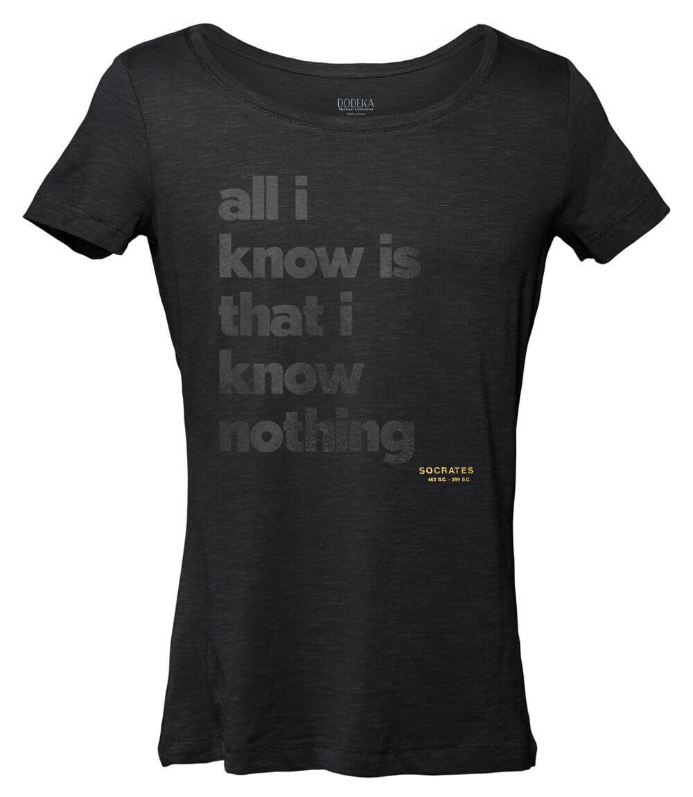 Γυναικείο T-shirt SOCRATES QUOTE