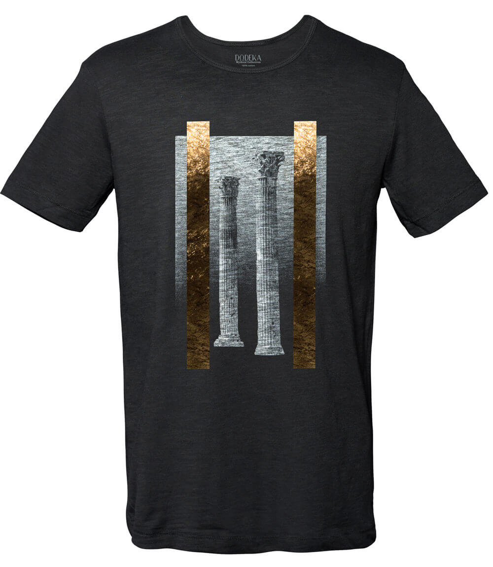 Men T-shirt TEMPLE OF ZEUS