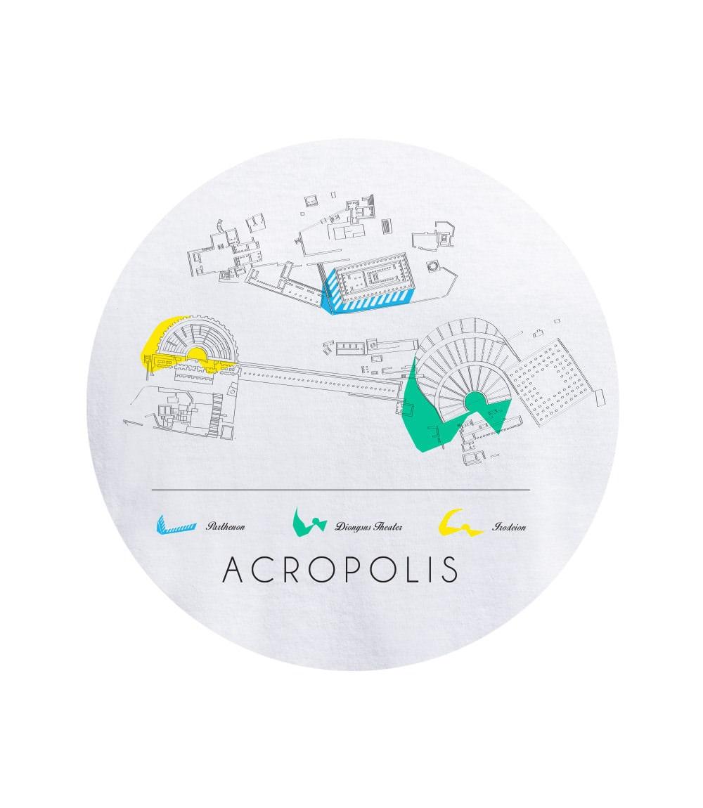 Γυναικείο T-shirt ACROPOLIS