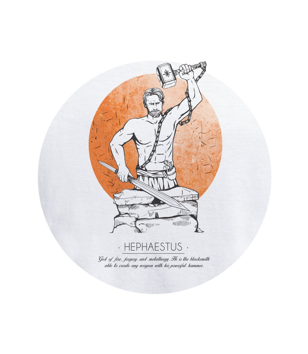 Ανδρικό T-shirt HEPHAESTUS
