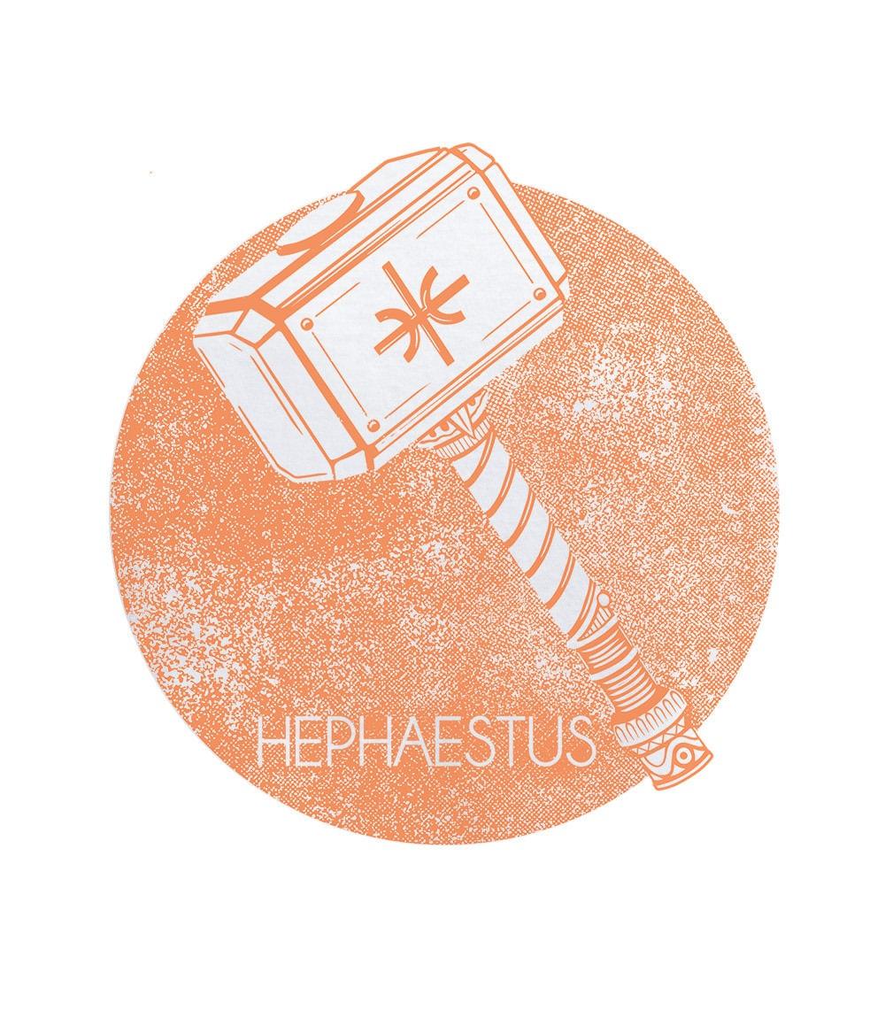 """Ανδρικό T-shirt """"Mera"""" HEPHAESTUS"""