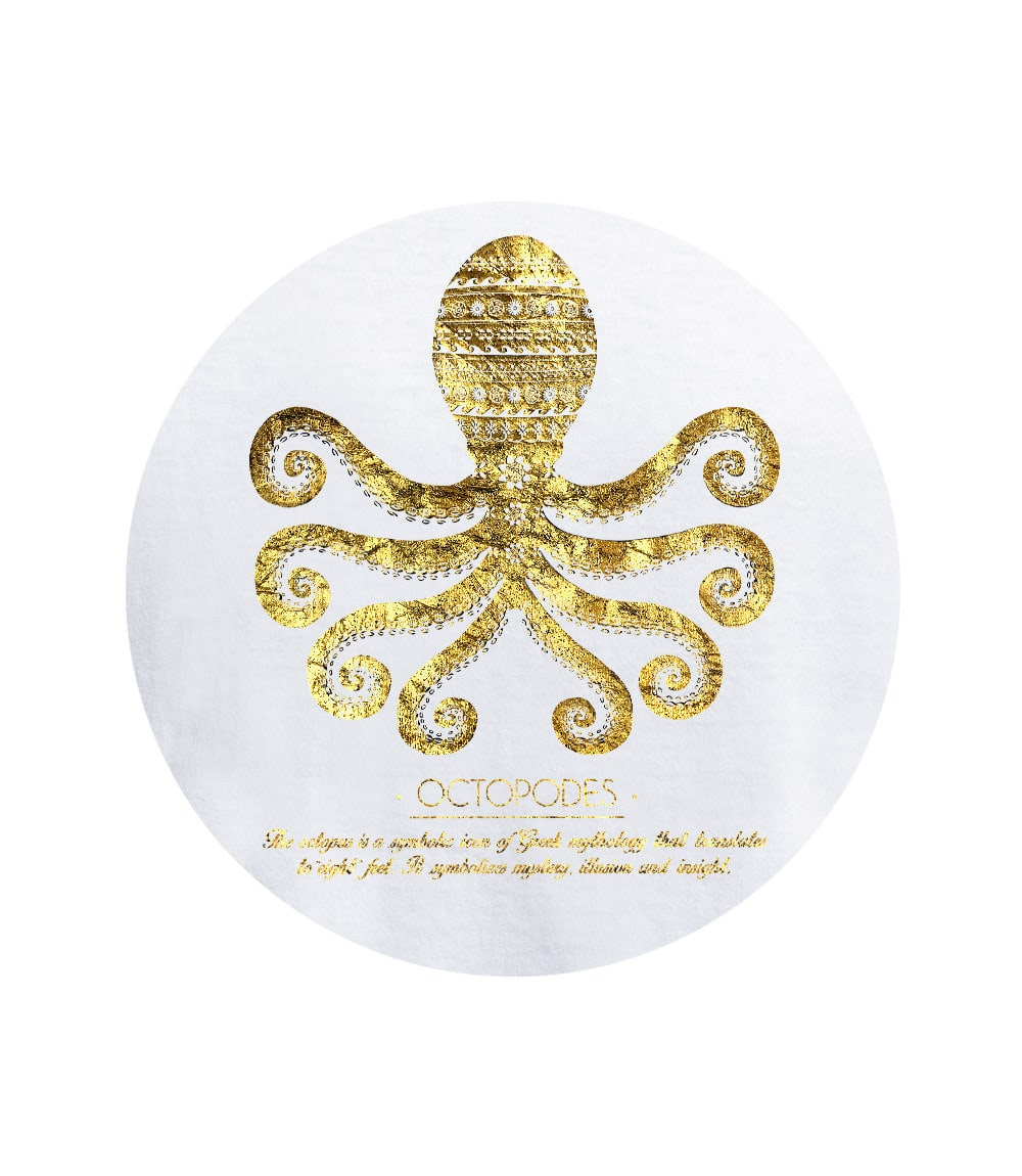 Women T-shirt OCTOPUS