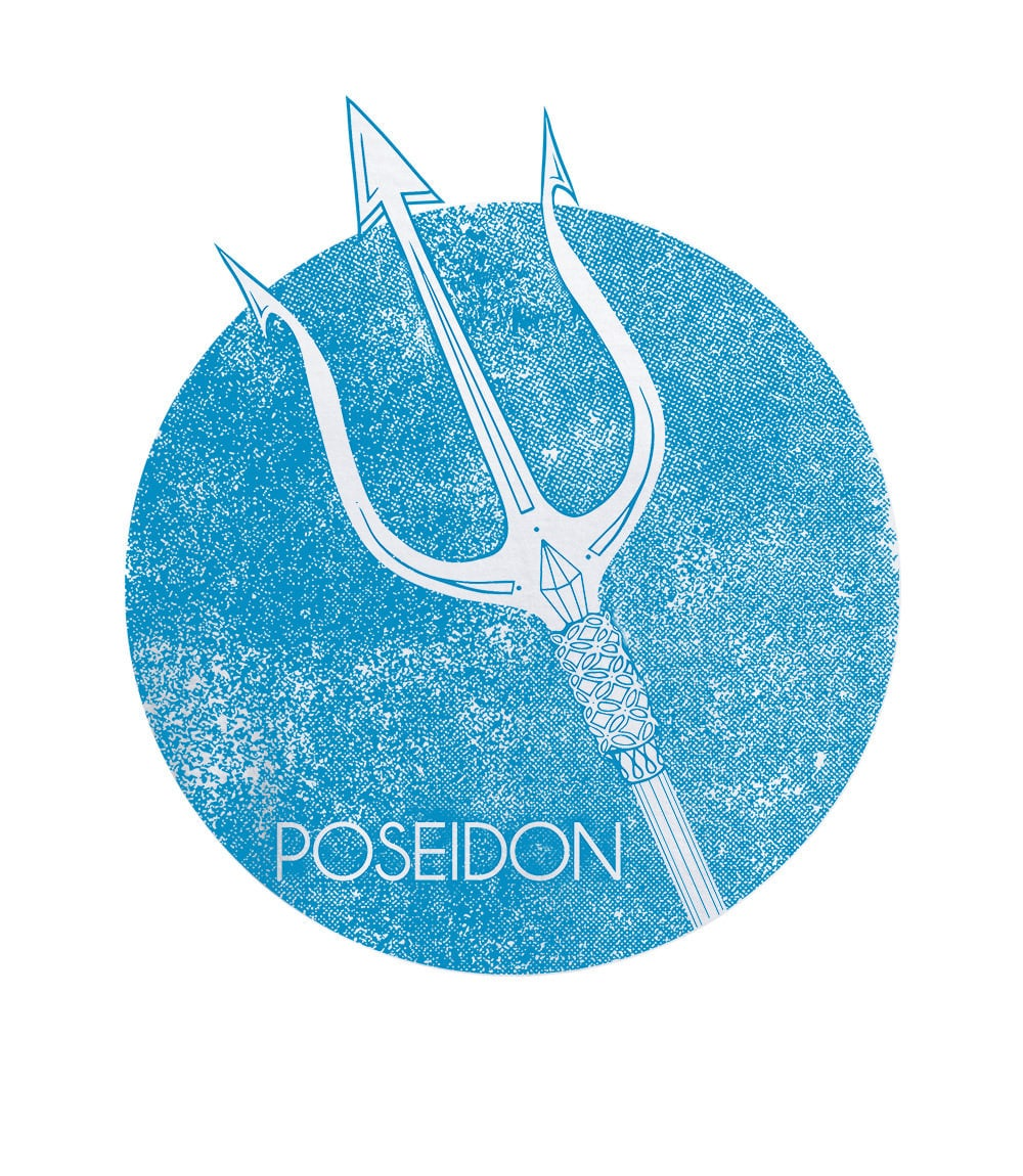"Men T-shirt ""Mera"" POSEIDON"